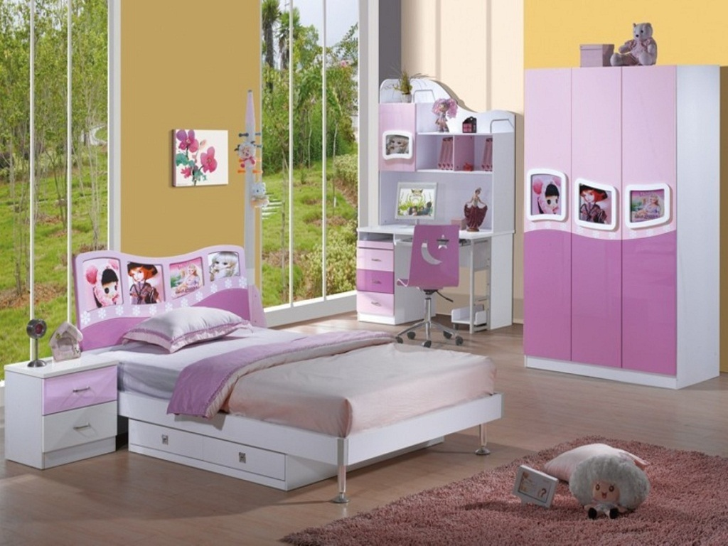 Image of: DIY Teenage Girl Bedroom Sets