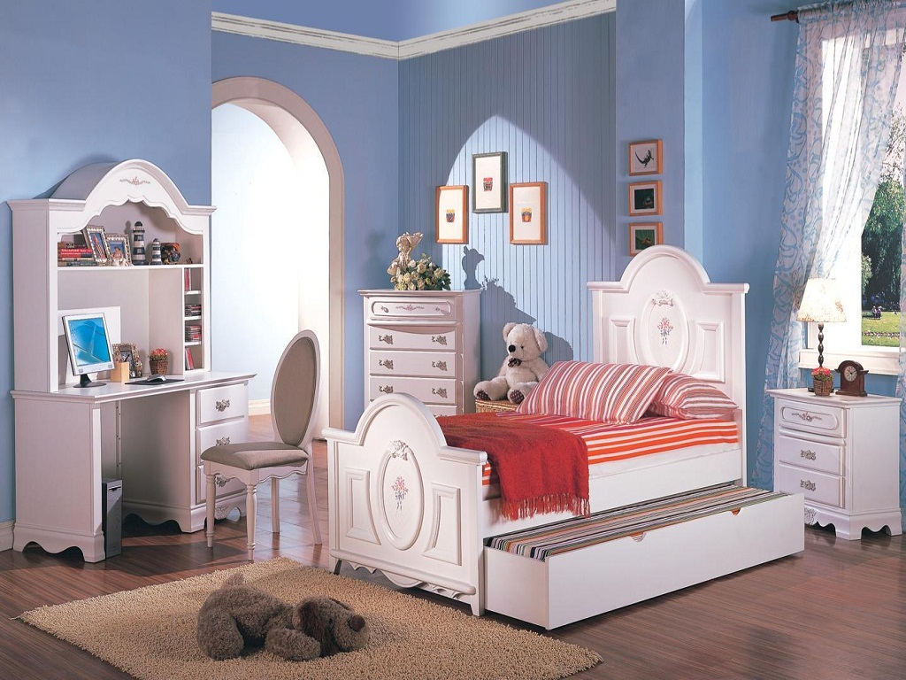 Image of: Elegant Teenage Girl Bedroom Sets