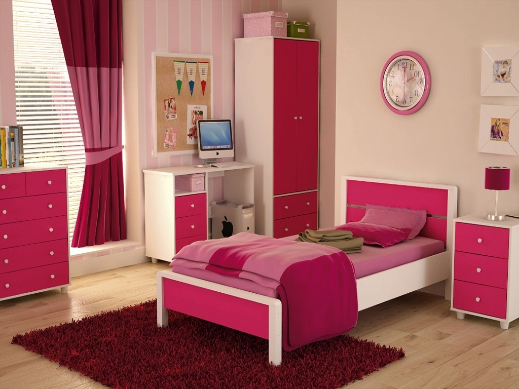 Image of: Teenage Girl Bedroom Sets Photos