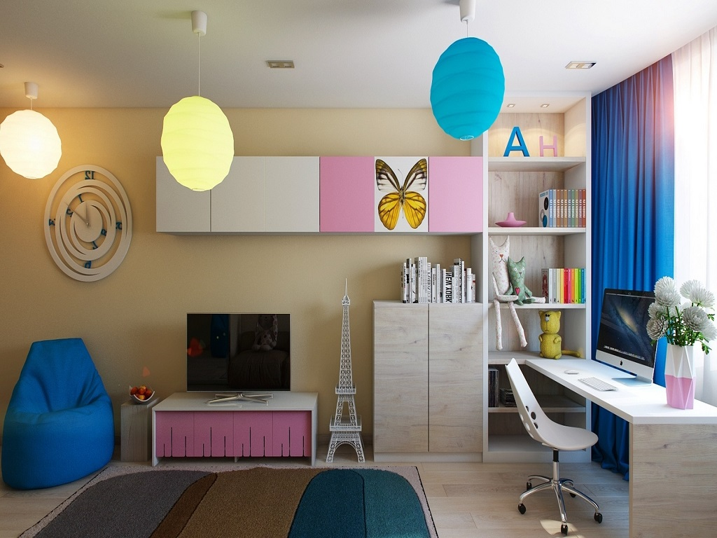 Image of: Angreeable Childrens Bedroom Chandeliers