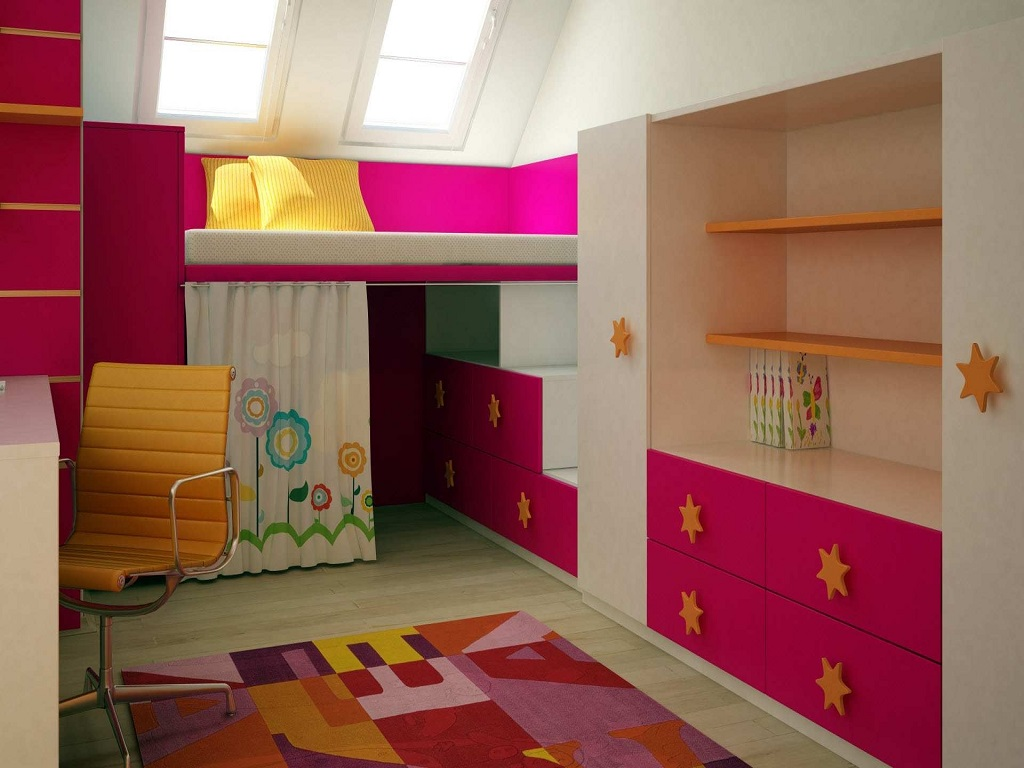 Image of: Childrens Bedroom Chandeliers For Unique
