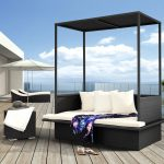 Elegant Outdoor Daybed Cushion