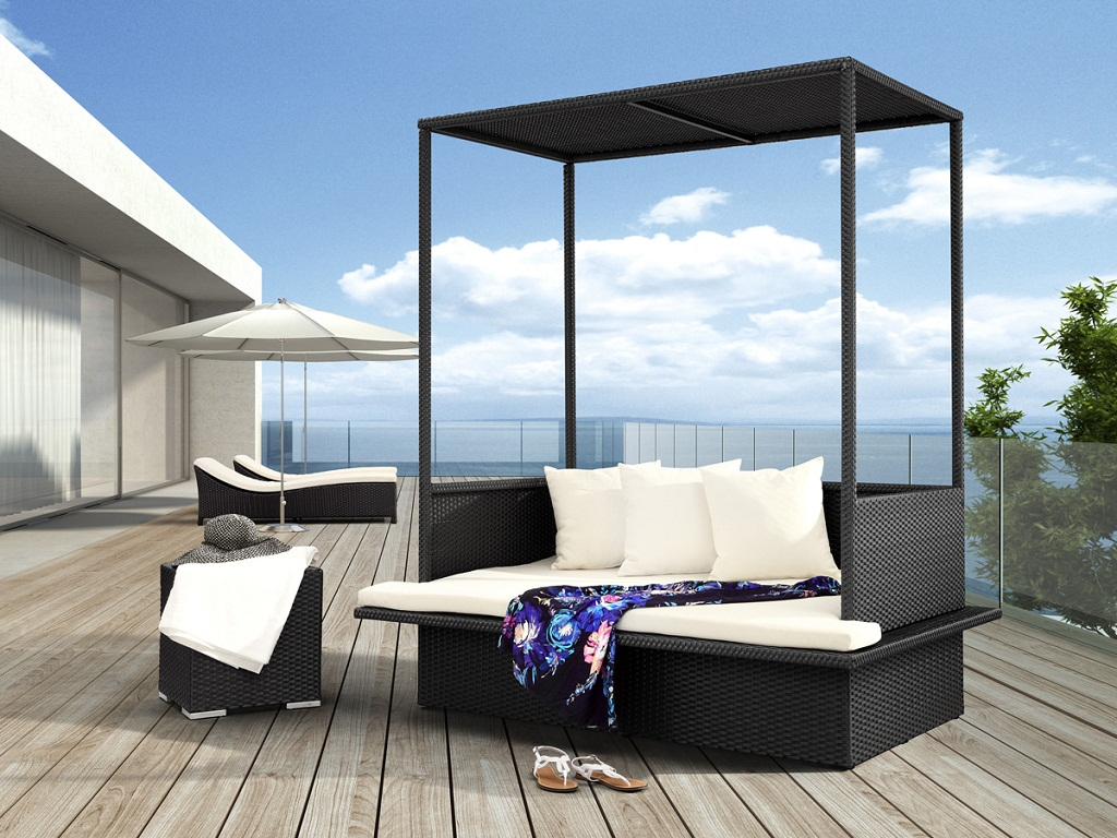 Image of: Elegant Outdoor Daybed Cushion