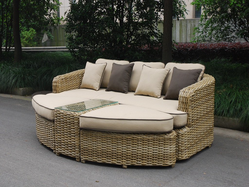 Image of: Outdoor Daybed Cushion Cover