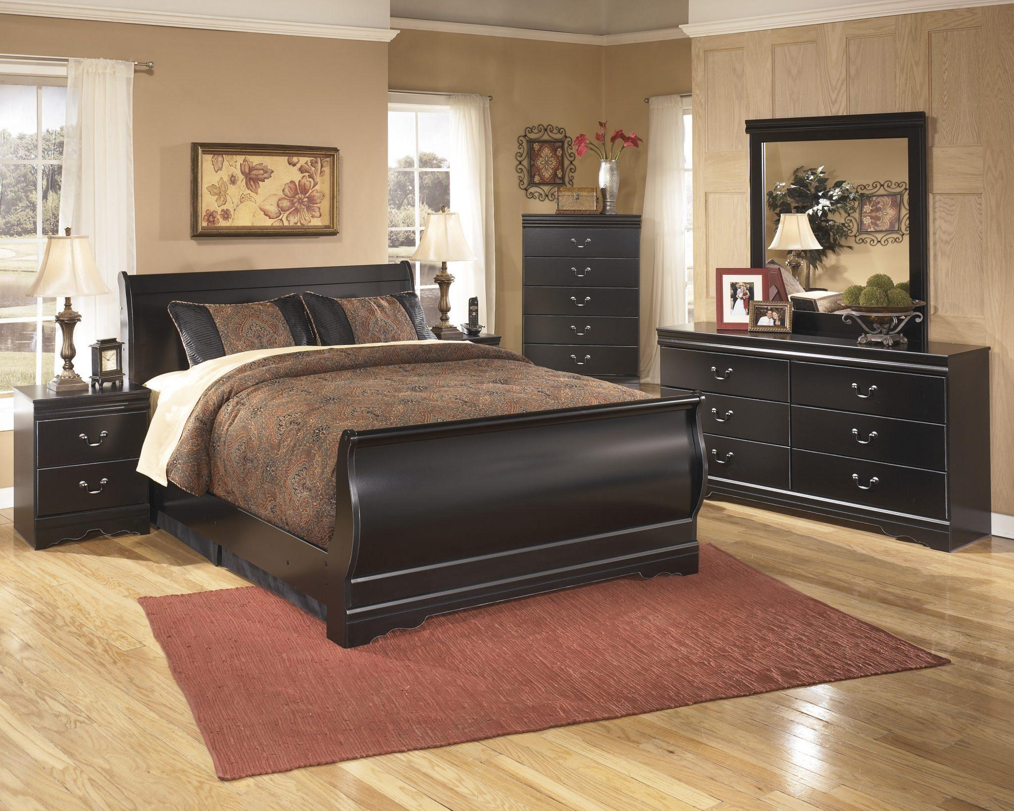 Ashley Sleigh Bedroom Set