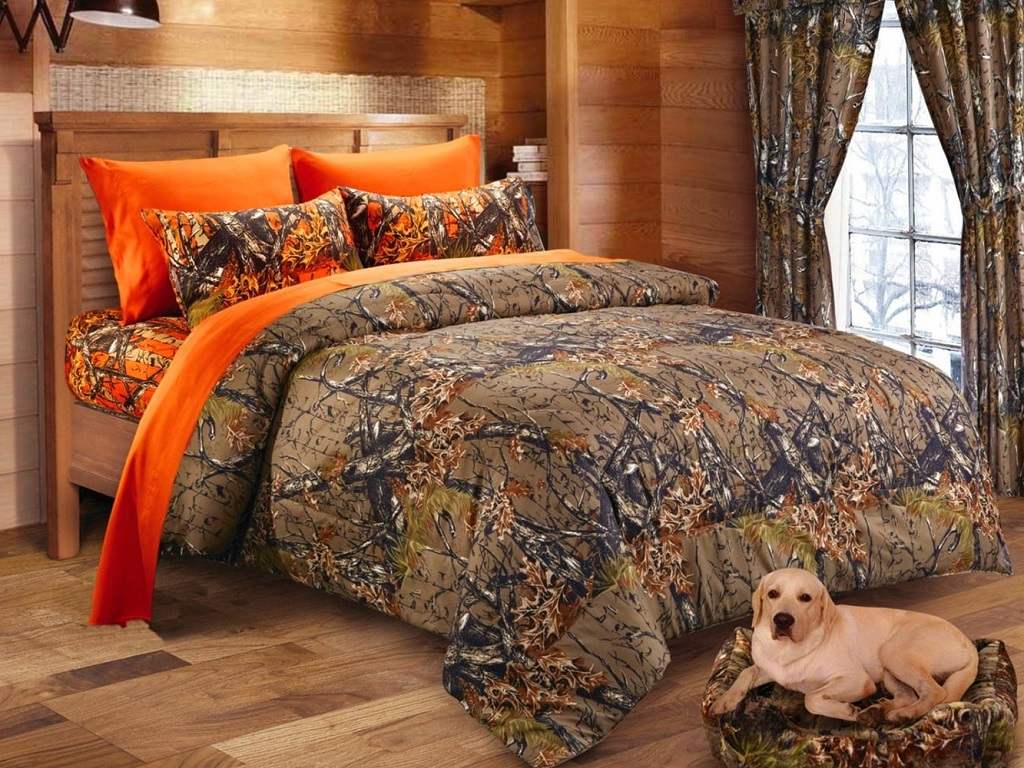 Image of: The Camouflage Bedroom Decorating Ideas