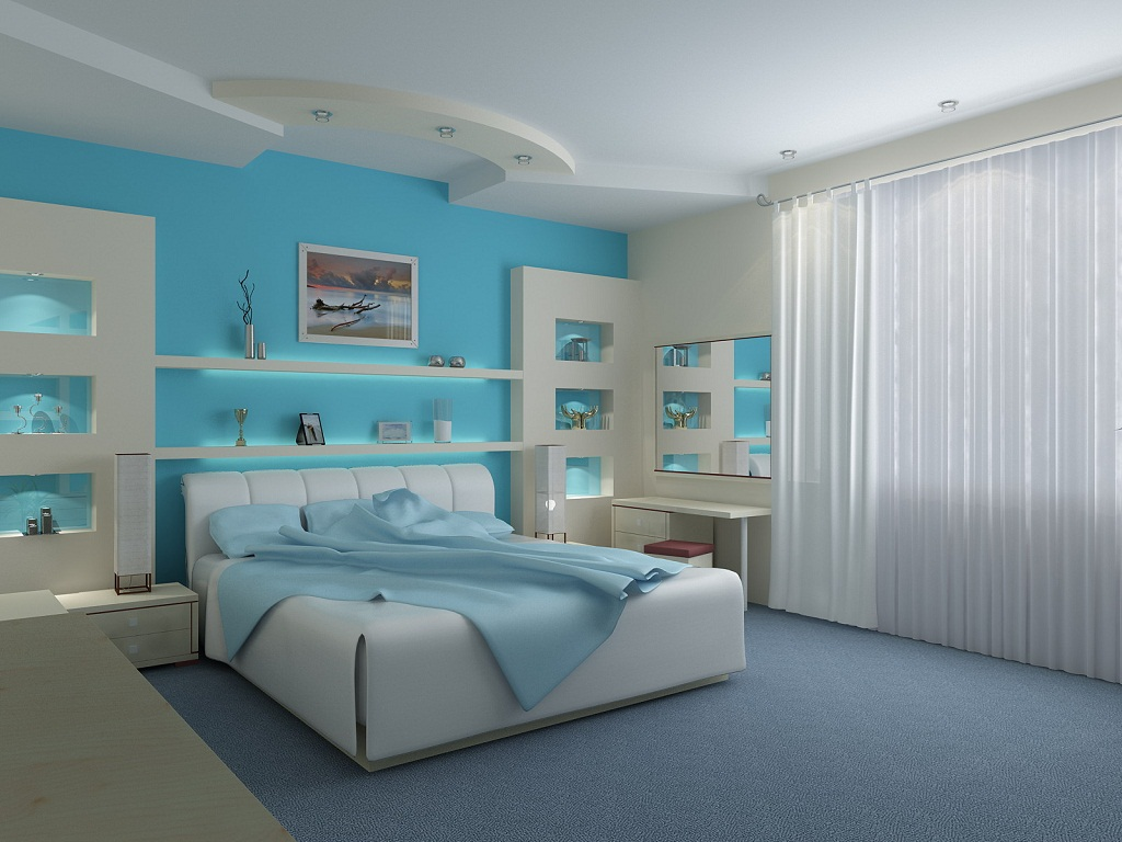 Image of: Beachy Bedroom Ideas On a Budget