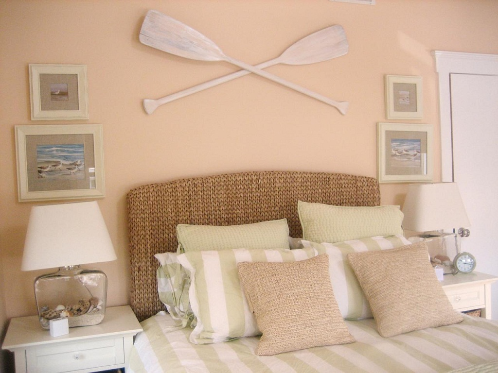 Image of: Beachy Bedroom Ideas Paint