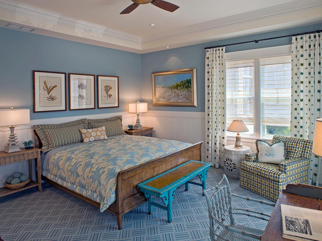 Image of: Beachy Ideas for a Bedroom