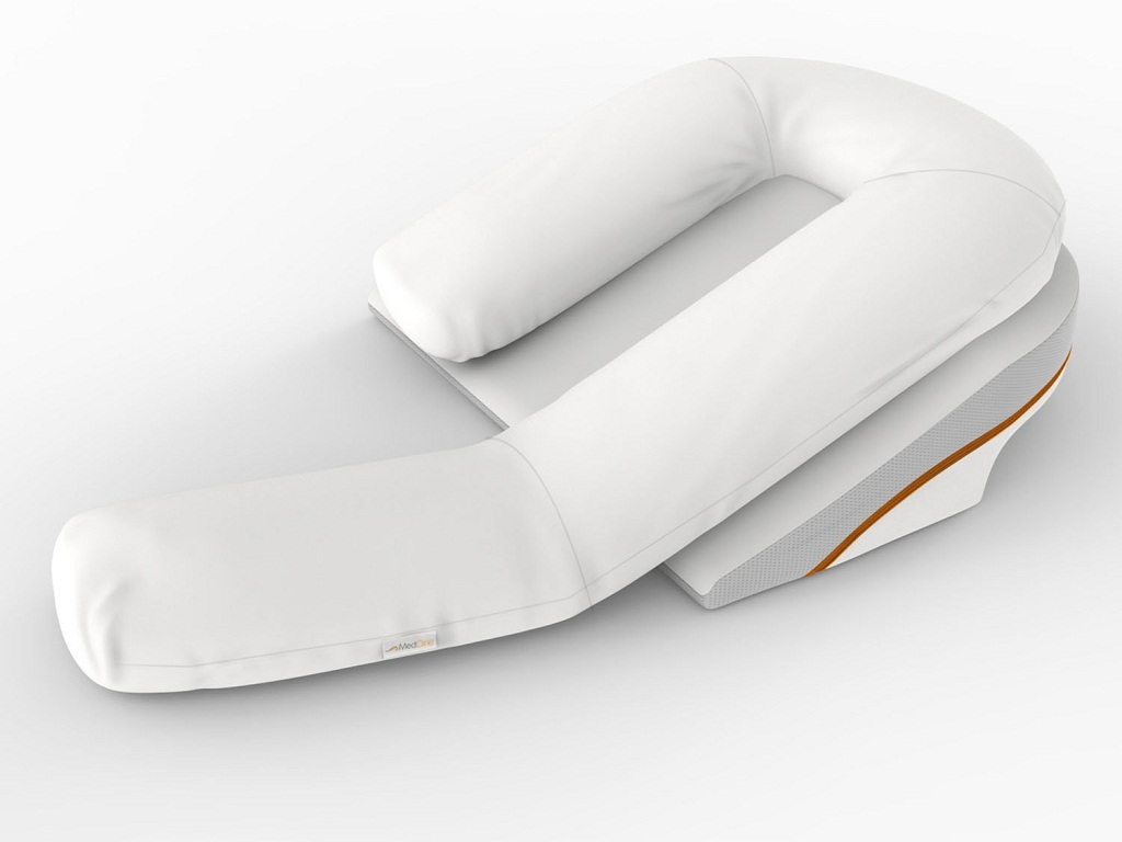 Image of: Bed Wedge Pillow Memory Foam