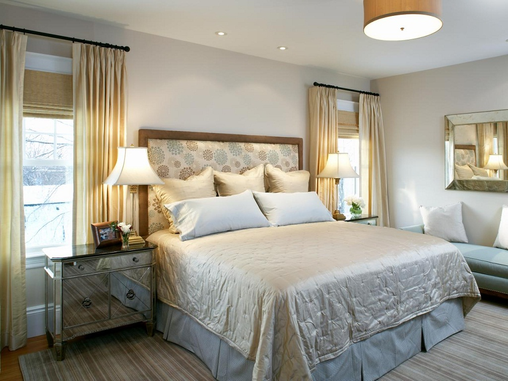 Image of: Bedroom Furniture Placement Designs