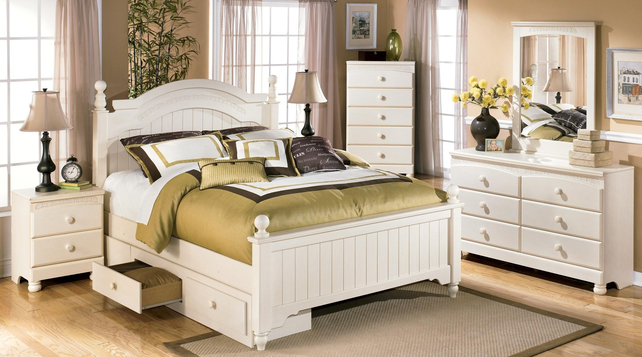 Image of: Cottage Retreat Twin Bedroom Set