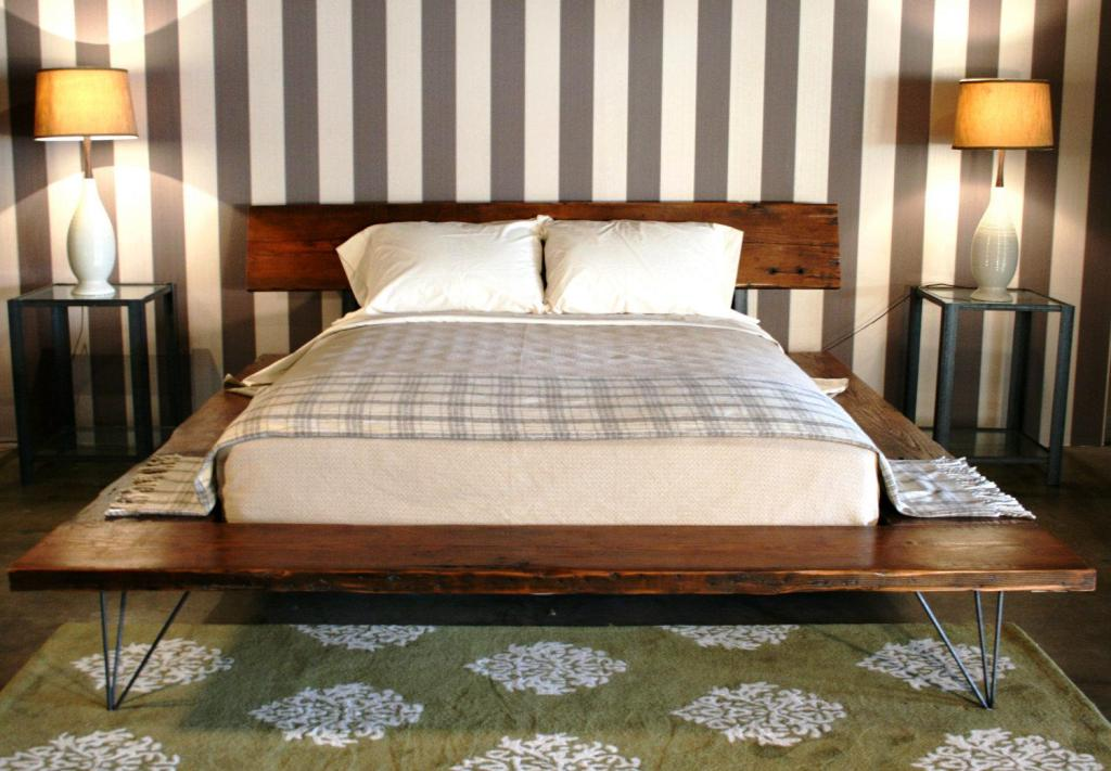 Image of: Modern Japanese Bed Frame Joinery