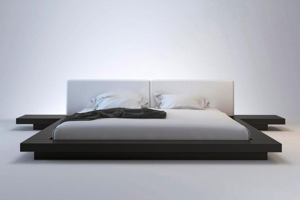 Image of: Japanese Bed Frame With Drawers