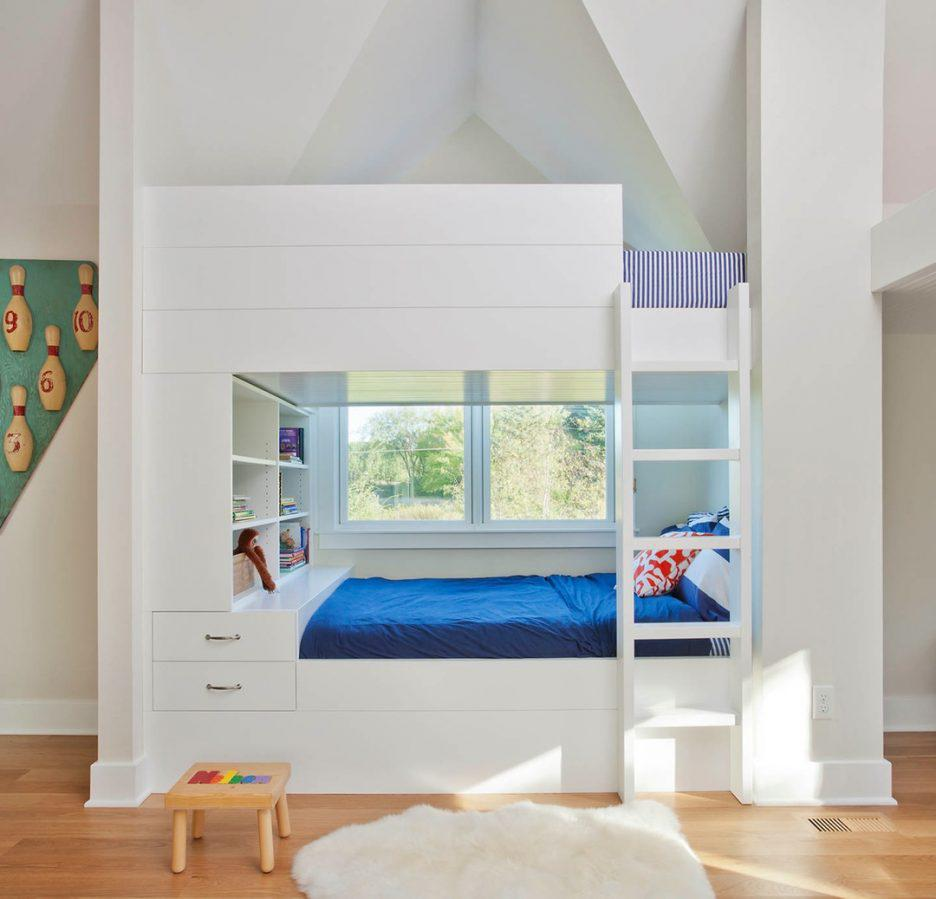 Image of: L Shaped Bunk Beds With Storage