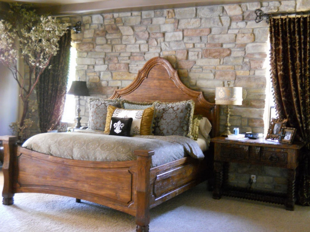 Image of: Rustic Bedroom Decor Images