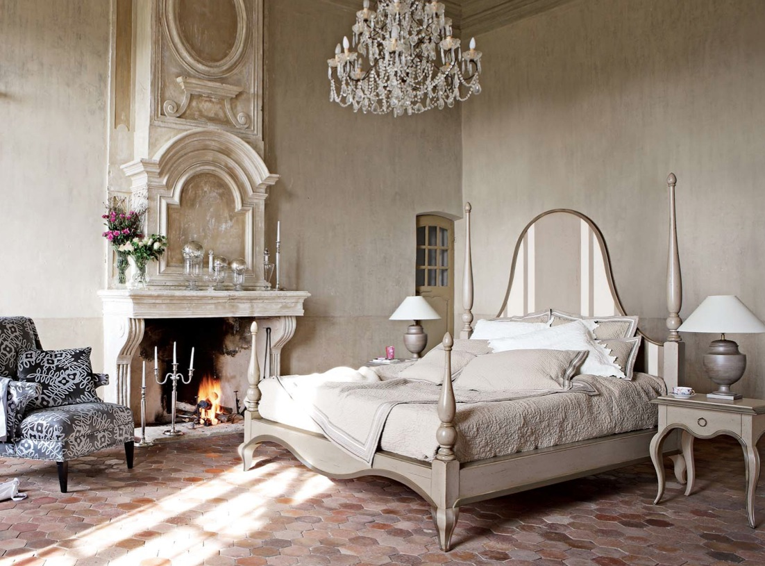 Image of: Rustic Country Bedroom Design Ideas