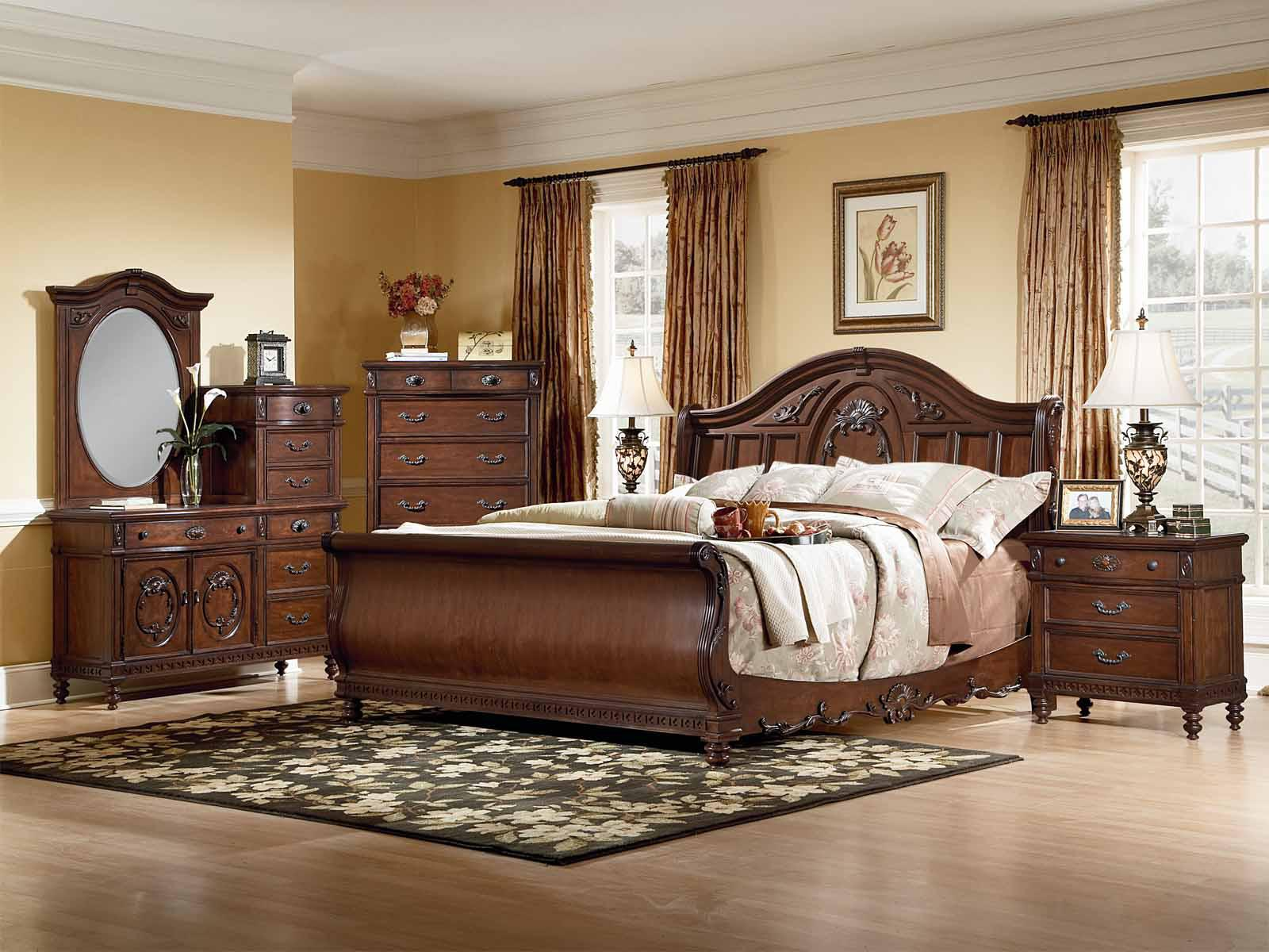 Image of: Sleigh Bedroom Sets South Africa
