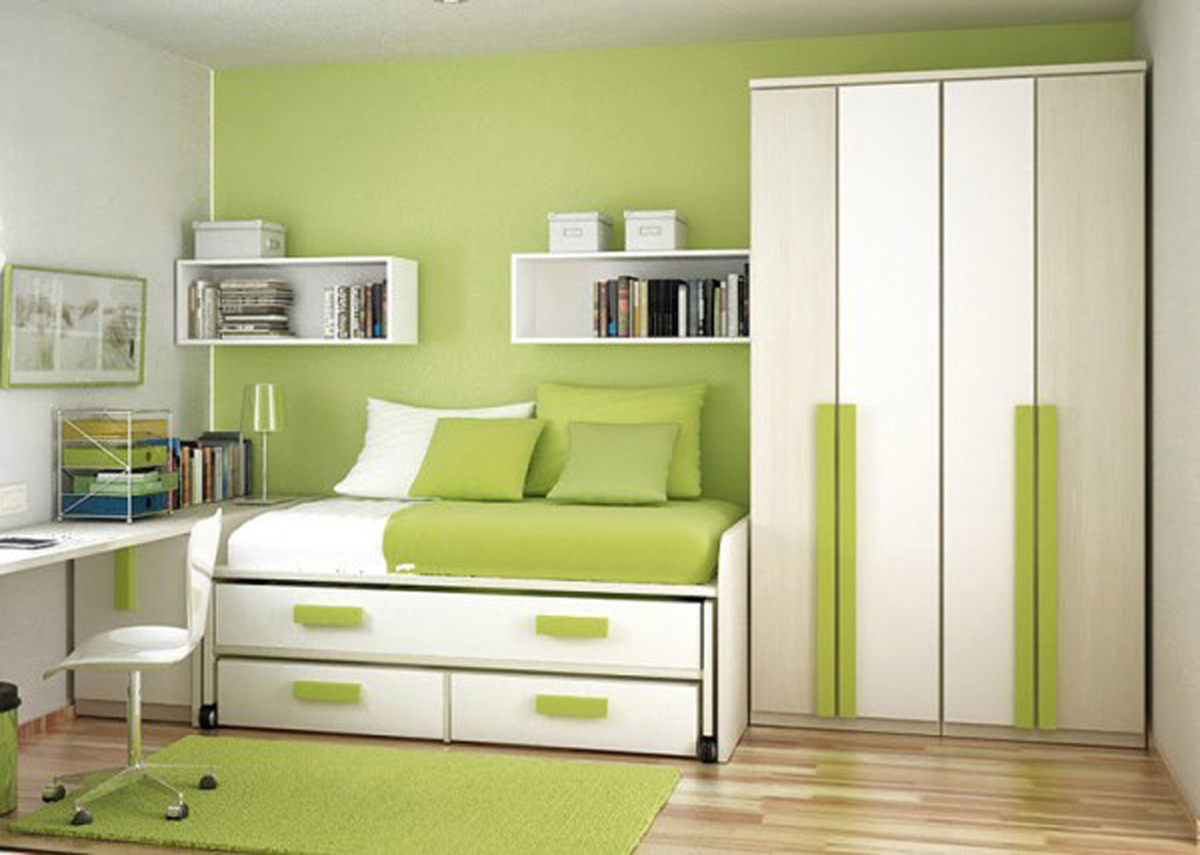 Image of: Small Bedroom Paint Ideas Pinterest