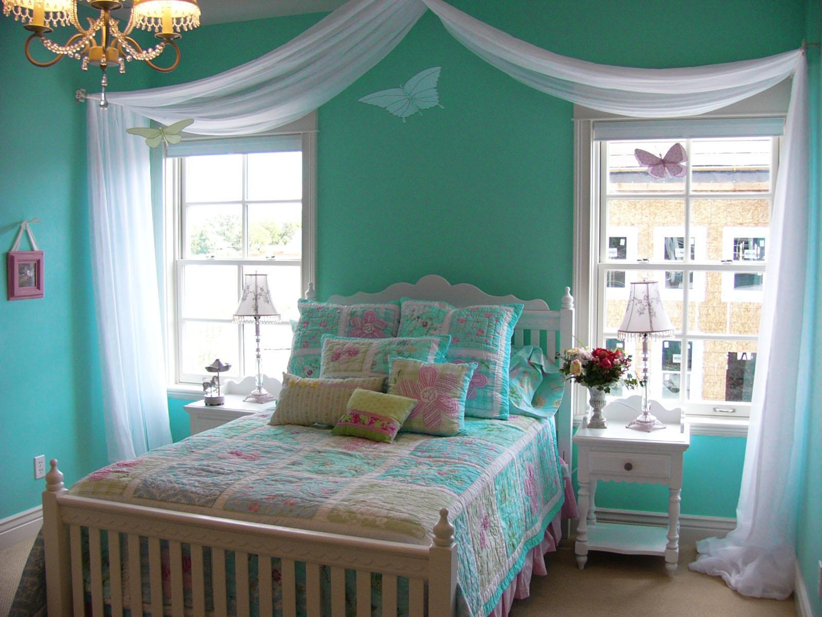 Image of: Turquoise Bedroom Ideas
