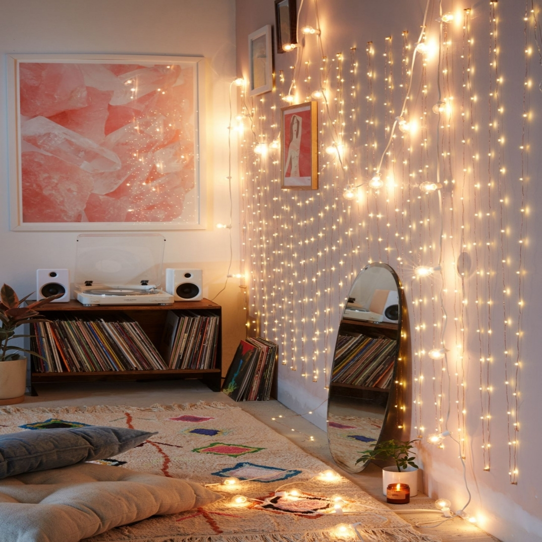 Cool String Lights Indoor Bedroom Ideas Best Idea Home Design