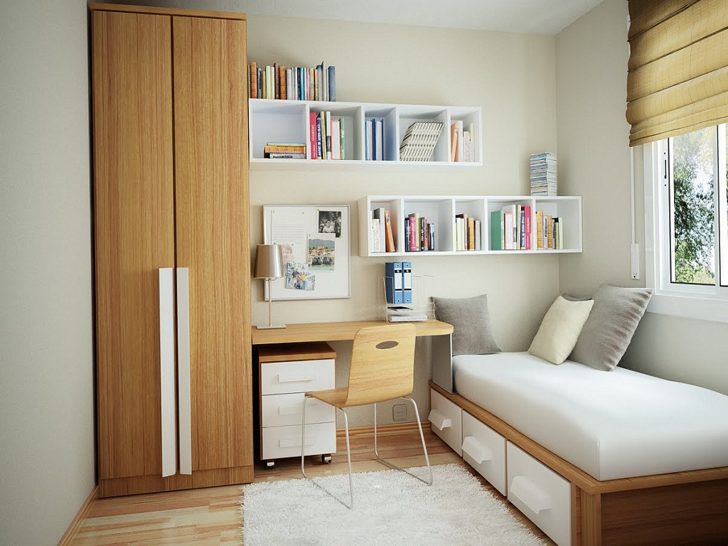 Image of: Bed Ideas For Small Room
