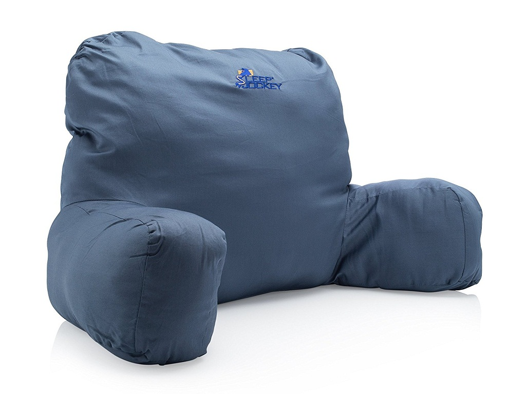 Image of: Bed Rest Pillow With Arms Target
