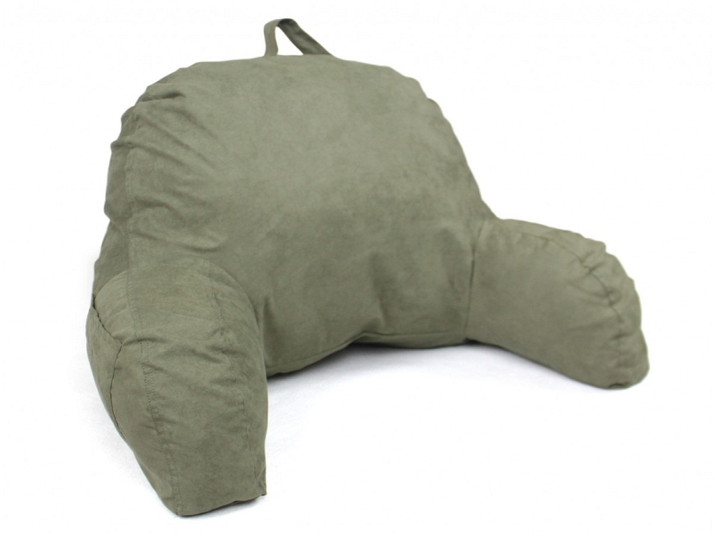 Image of: Bed Rest Pillow With Arms Walmart
