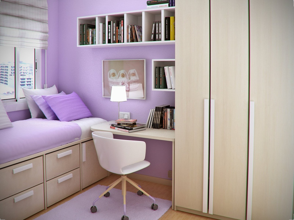 Image of: Creative Bed Ideas For Small Rooms