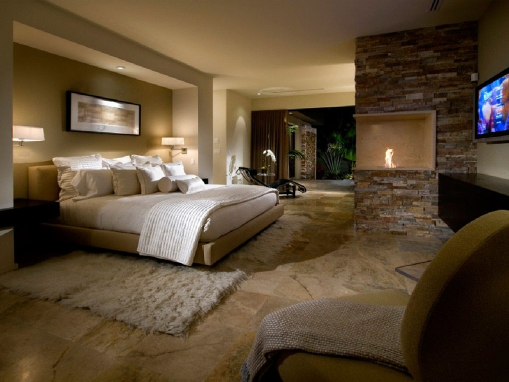 Image of: Master Bedroom And Bath