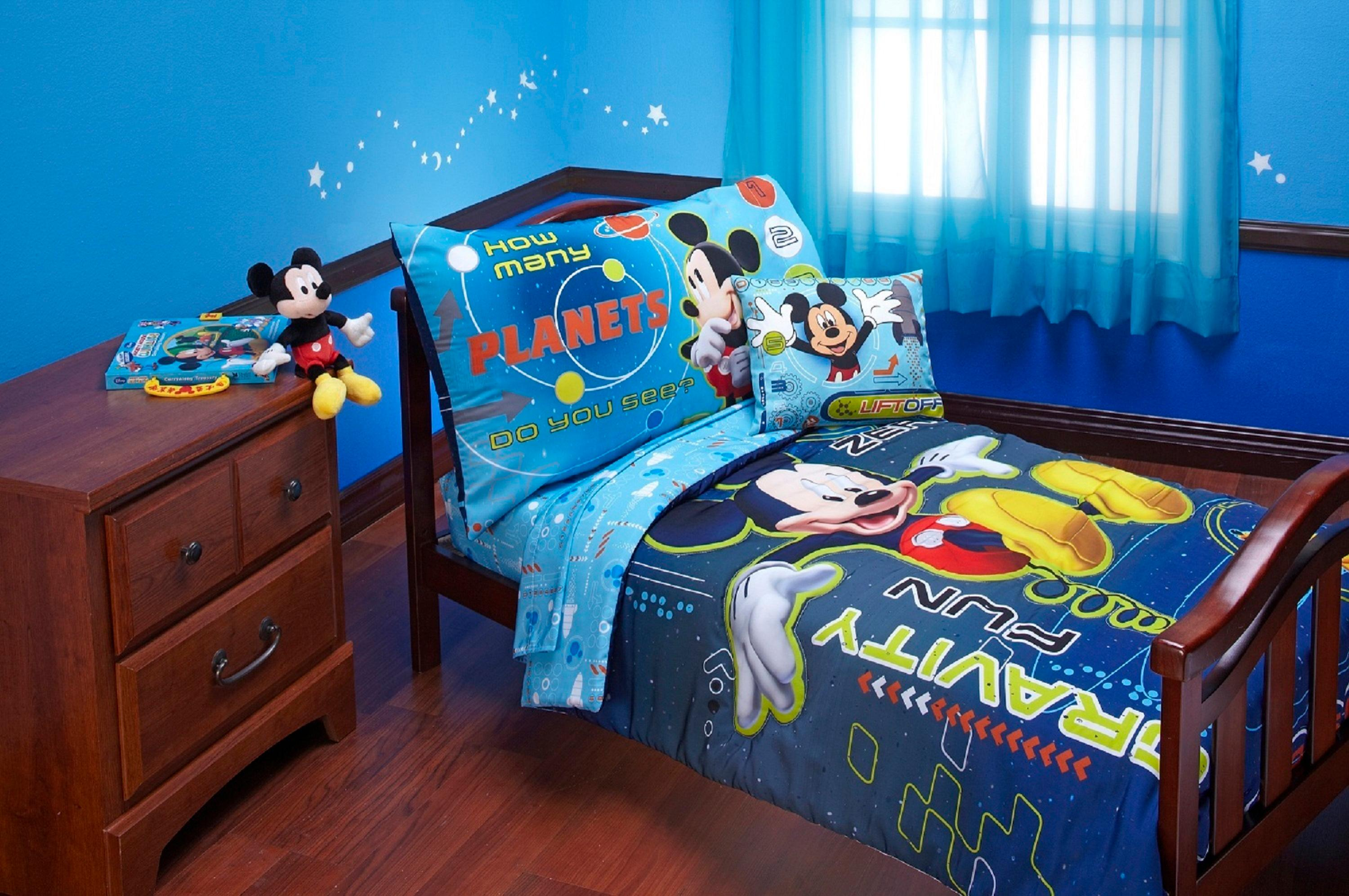 Image of: Mickey Mouse Bedding Set Toddler