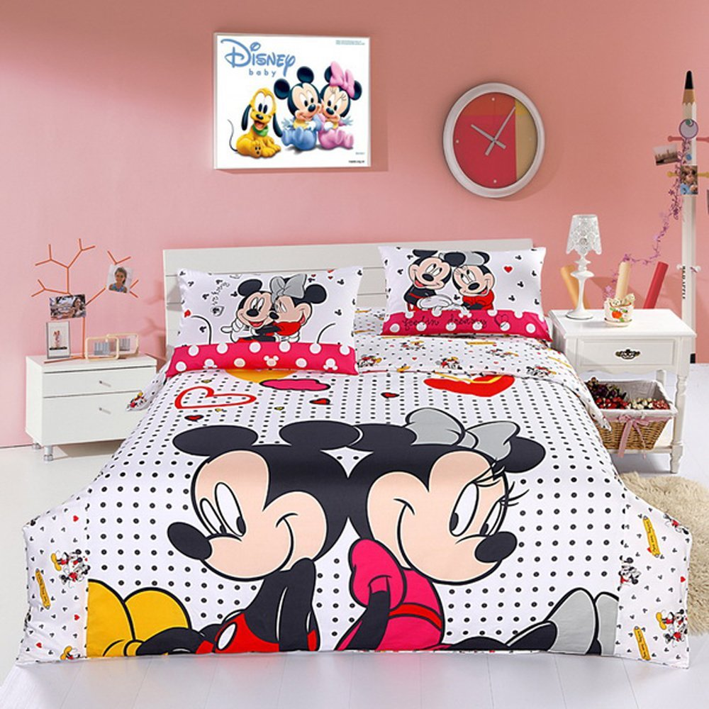 Image of: Mickey Mouse Bedroom Set Uk