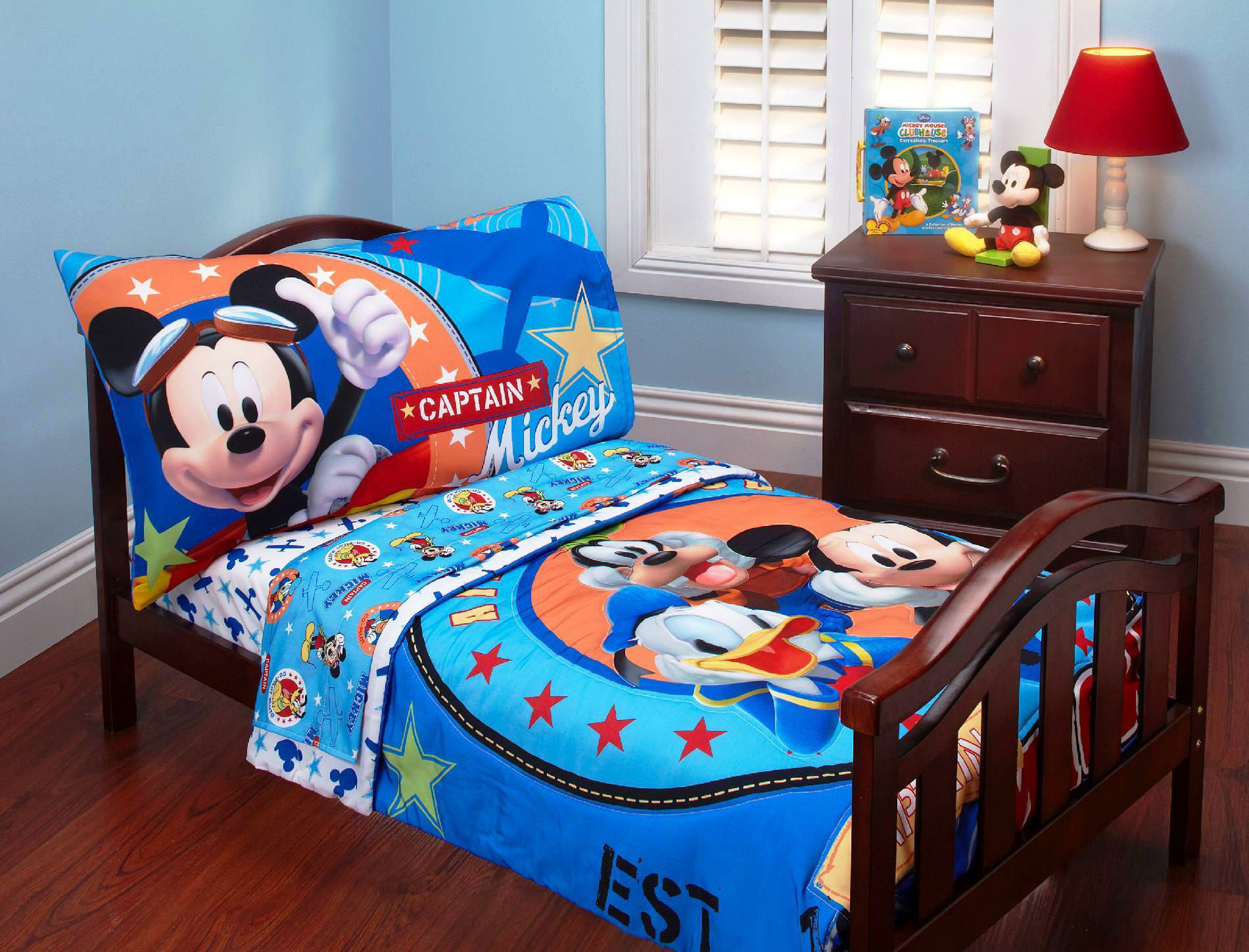 Image of: Mickey Mouse Comforter Set Full