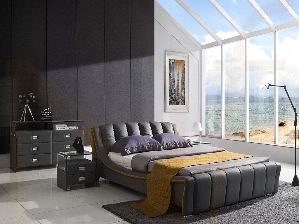 Image of: Queen Bed Ideas For Small Room