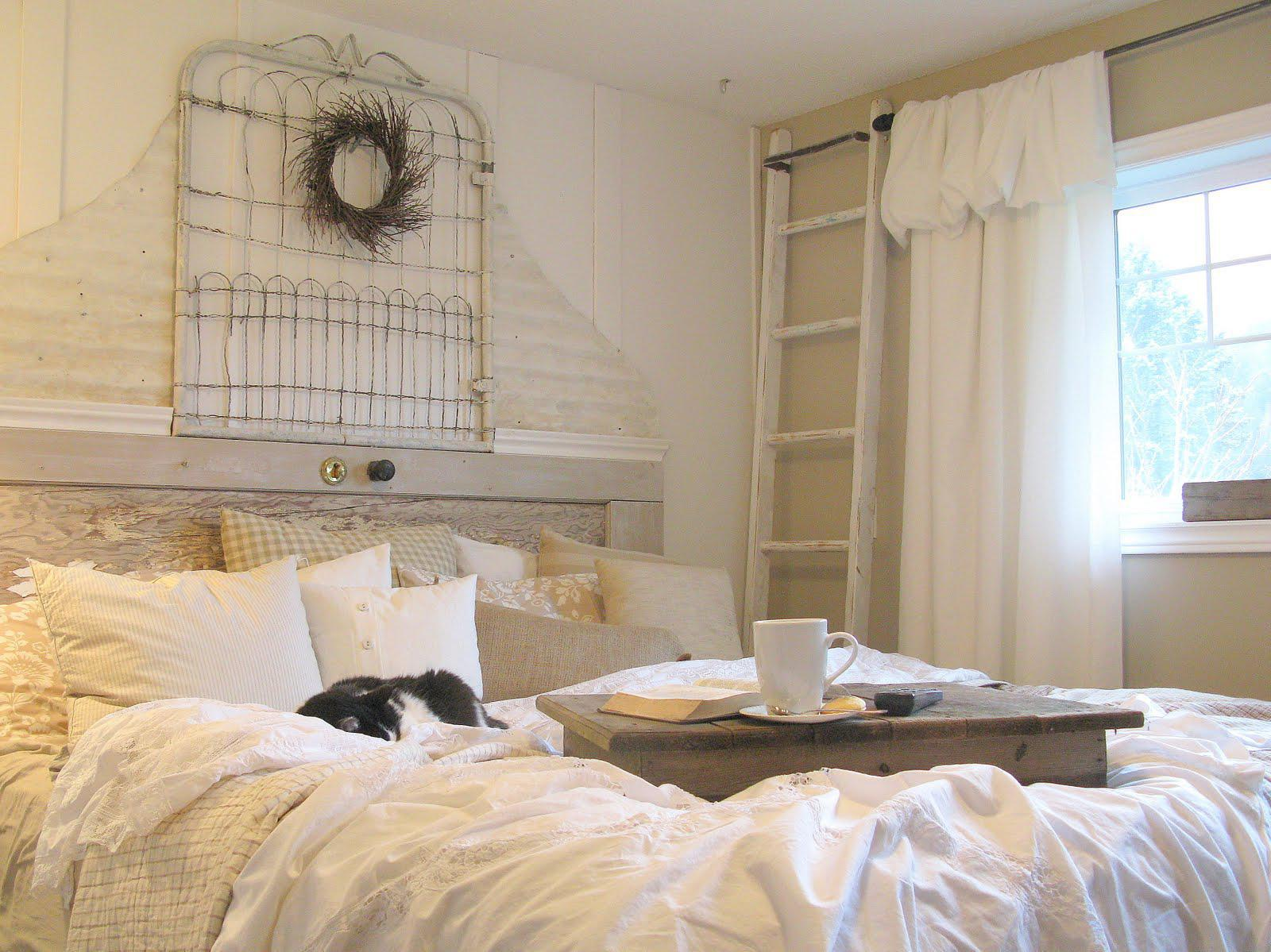 Image of: Shabby Chic Bedroom Ideas Green