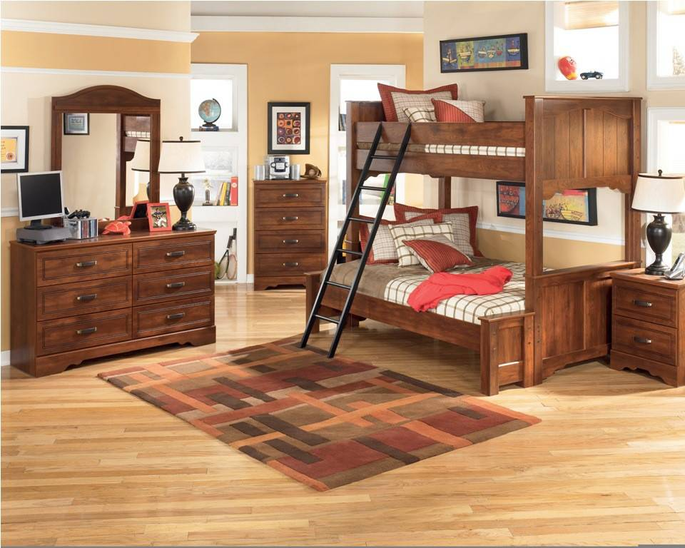 Image of: Youth Bedroom Sets With Trundle