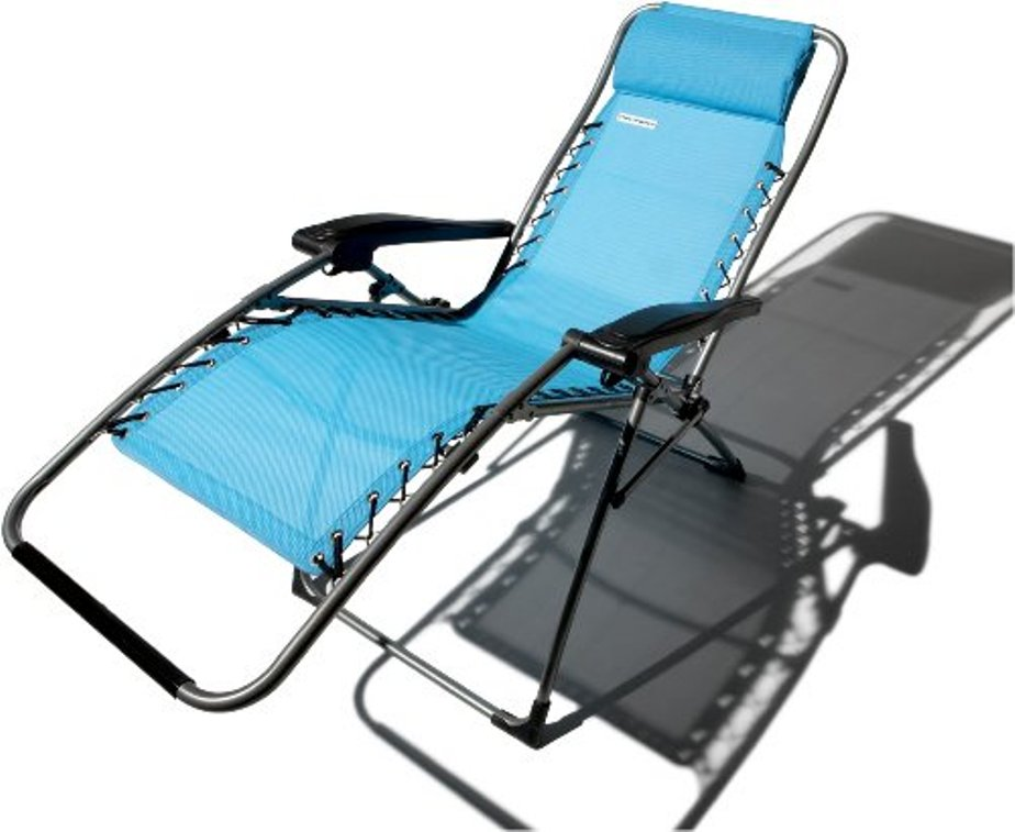 Image of: 5 Position Reclining Patio Chair