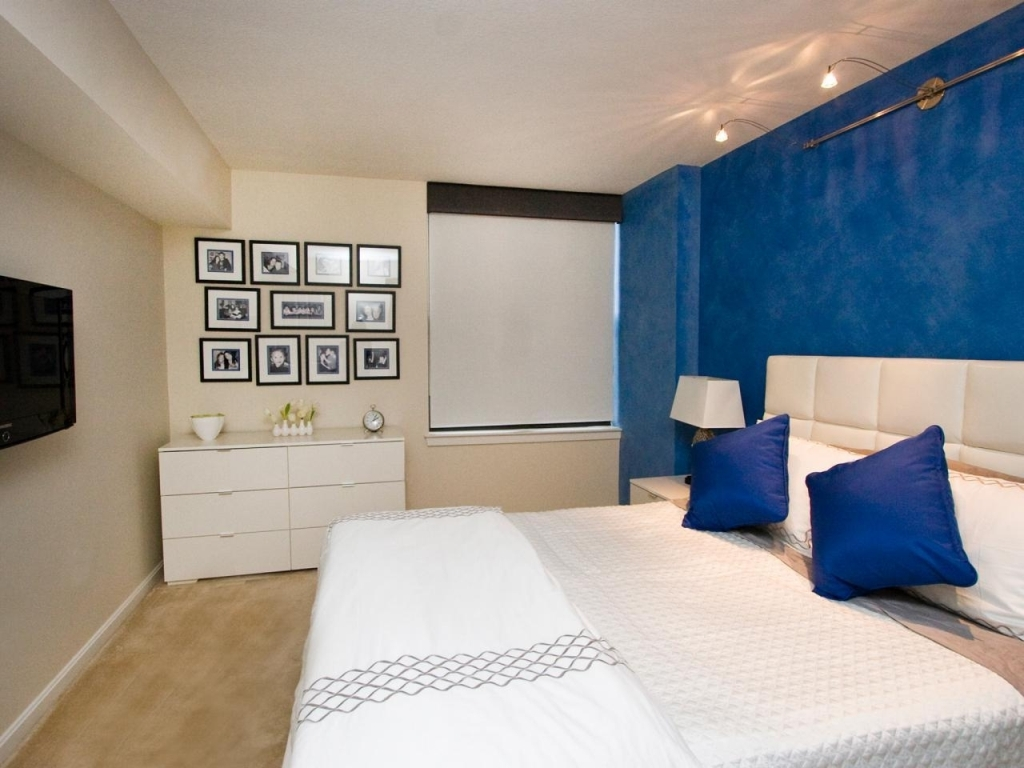 Image of: Accent Wall Bedroom Colors
