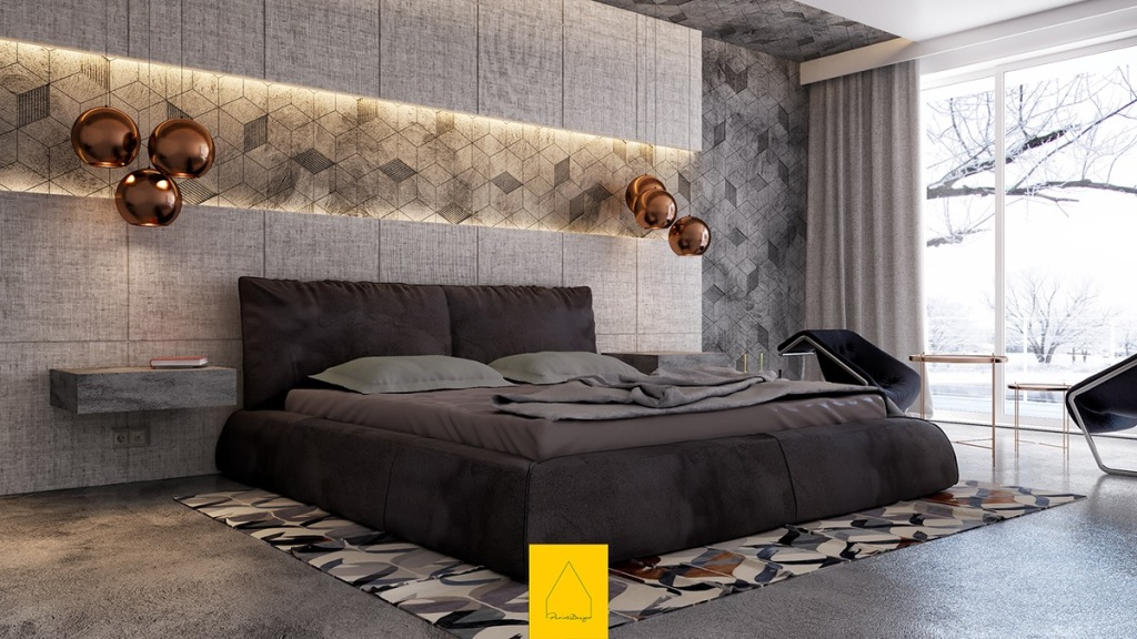 Image of: Accent Wall Bedroom Ideas