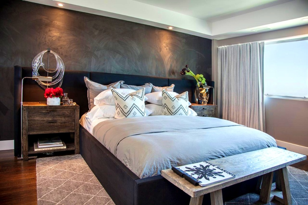 Image of: Accent Walls Bedrooms
