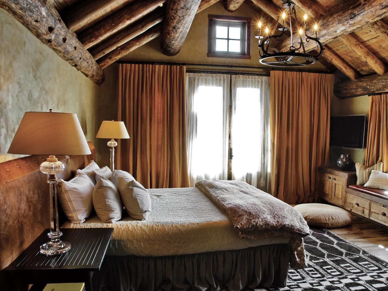 Image of: Adorable Rustic Master Bedroom