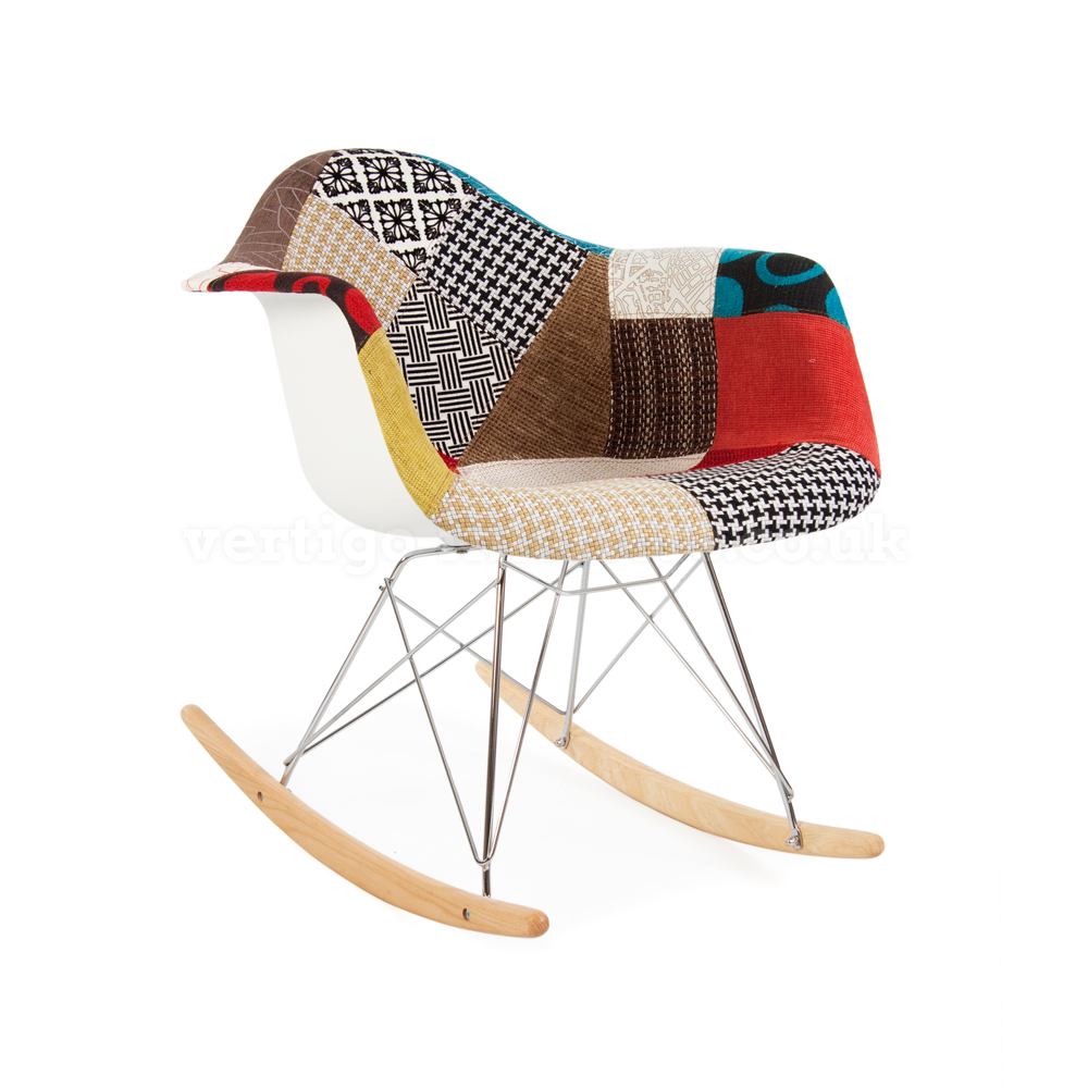 Image of: Amazing Eames Rocking Chair