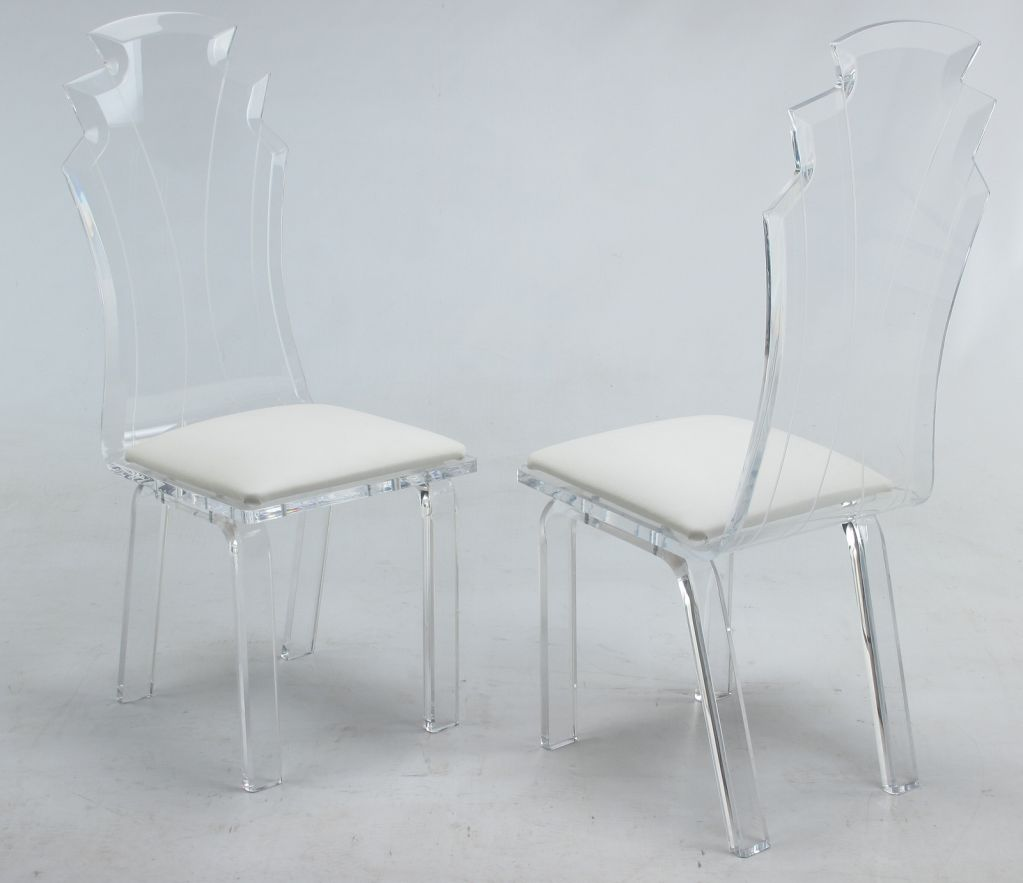 Amazing Lucite Dining Chairs