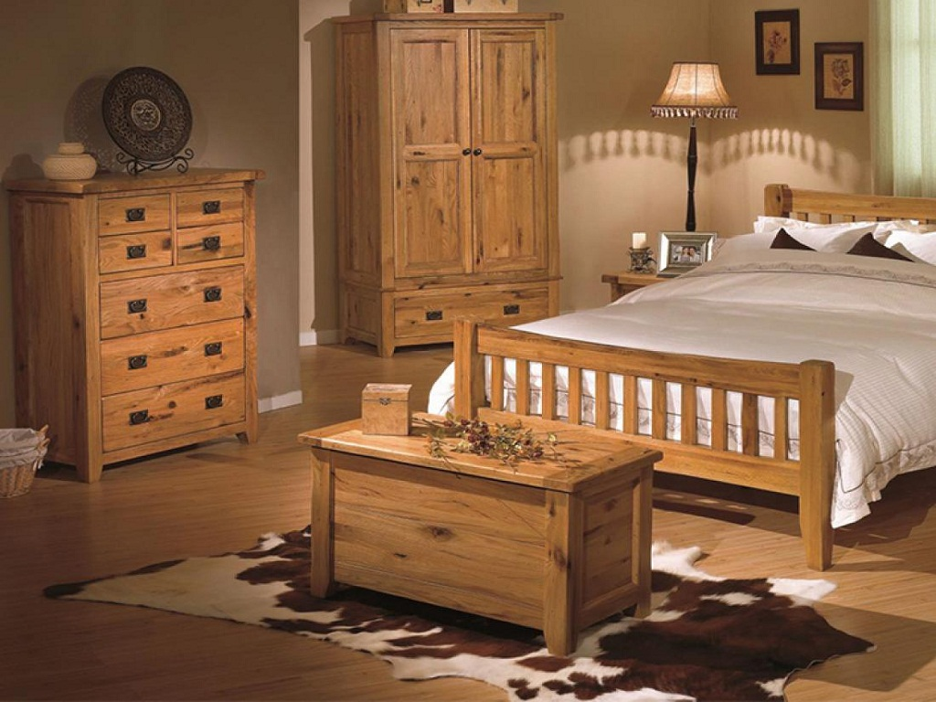 Amazing Rustic Oak Bedroom Furniture