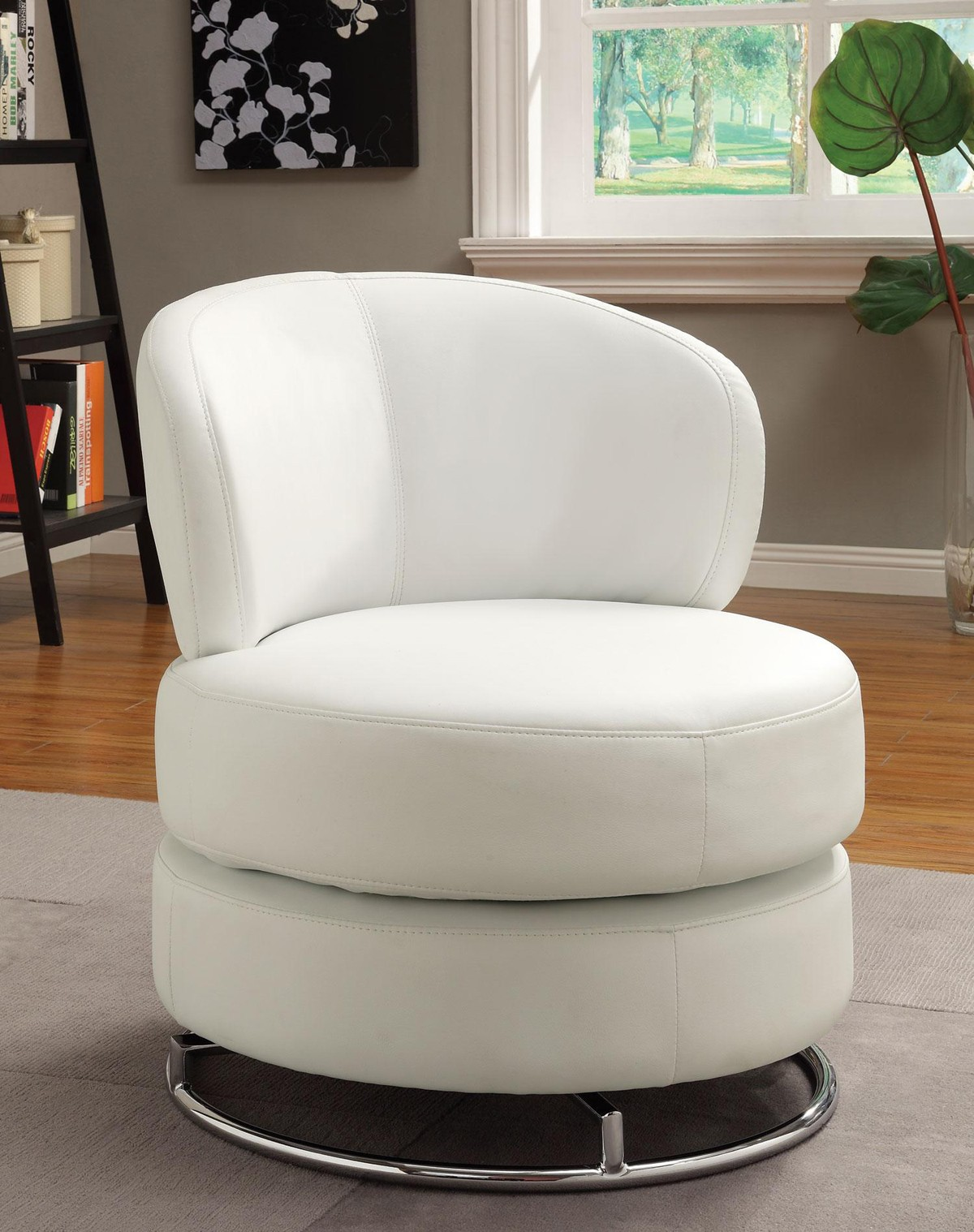 Image of: Amazing Swivel Accent Chair