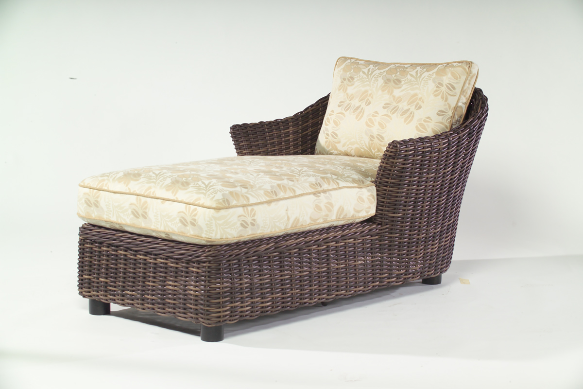 Image of: Amazing Wicker Lounge Chair