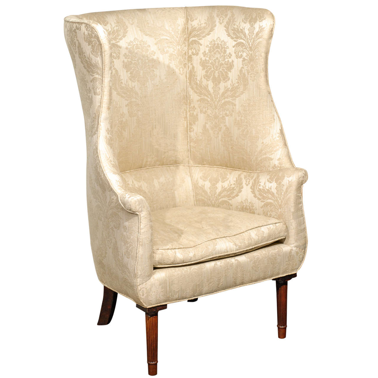 Antique Oversized Accent Chairs