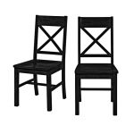 Antique Unfinished Wood Dining Chairs
