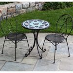Antique Wrought Iron Patio Set