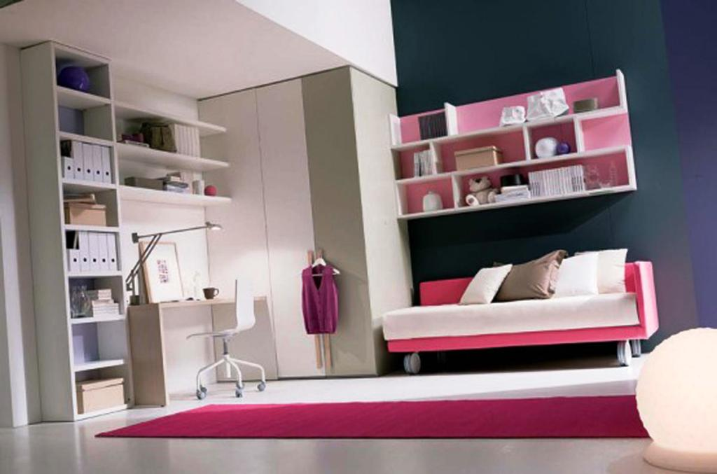 Appealing Teenage Girl Bedroom Decor